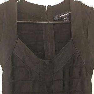French Connection Black Bandage Dress...Size 6